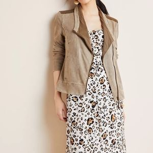 ⭐HP⭐ ANTHROPOLOGIE Marrakech French Terry Jacket